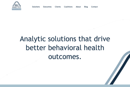 IBH Analytics cover image